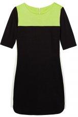 prosta sukienka Reserved w kolorze czarnym - sukienki na wiosn� i lato 2013