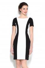 bia�o-czarna sukienka Orsay - wiosna/lato 2013