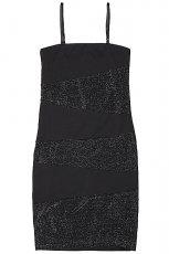 czarna na rami�czkach sukienka House - wiosna 2013