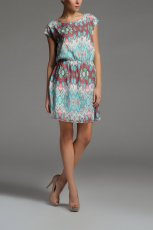 kolorowa sukienka Top Secret - kolekcja wiosenno-letnia