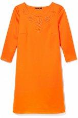 modna sukienka Mohito w kolorze pomara�czowym - lato 2013