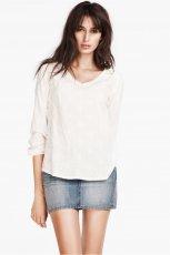 jeansowa sp�dniczka H&M - trendy na wiosn� i lato 2013