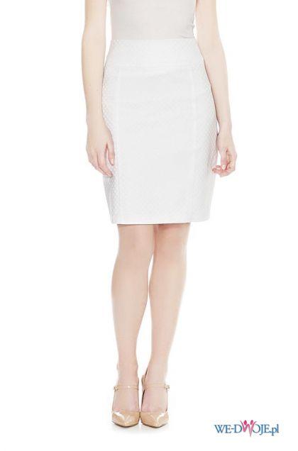 bia�a sp�dniczka Orsay - moda 2013