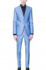 niebieski garnitur ZARA