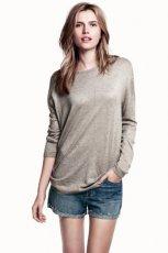 szary sweterek Bershka - trendy 2013