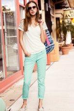 mi�towe spodnie H&M - moda na wiosn� i lato 2013