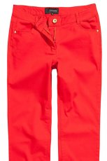 czerwone spodnie Reserved - wiosna 2013