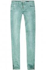 dopasowane spodnie Reserved w kolorze zielonym - moda 2013