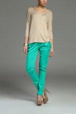 zielone spodnie Top Secret - moda damska 2013