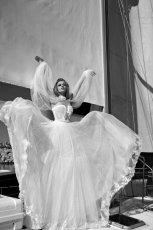 suknia �lubna Galia Lahav zwiewna
