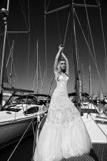 suknia �lubna Galia Lahav z koronk�