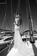 suknia �lubna Galia Lahav z trenem