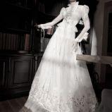 suknia �lubna Galia Lahav z d�ugam r�kawem