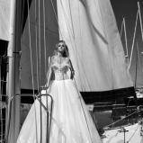 suknia �lubna Galia Lahav tiulowa