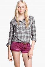 modna koszula H&M w kratk� - trendy na lato