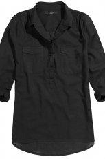 czarna koszula Reserved - moda 2013
