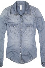 jeansowa koszula Reserved - wiosna 2013