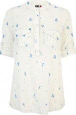 koszula River Island w kolorze ecru - moda na wiosn� i lato 2013