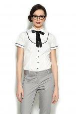 elegancka koszula Orsay w kolorze bia�ym - trendy 2013