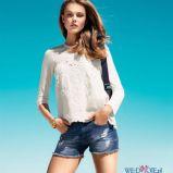 szorty H&M jeansowe - trendy wiosna-lato 2013