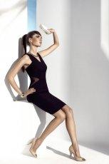 sukienka Mohito w kolorze czarnym - letnie trendy