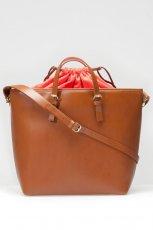 elegancka torebka Stradivarius w kolorze br�zowym - modne dodatki