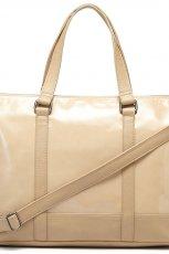 lakierowana torebka Reserved w kolorze br�zowym - kolekcja torebek 2013