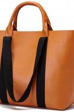 elegancka torebka Reserved w kolorze br�zowym - modne torebki