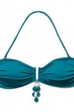 d�ra bikini Atlantic w kolorze ciemnozielonym