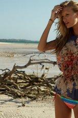 tunika F&F w kwiaty  - moda na lato 2013