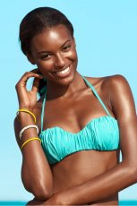 turkusowe bikini H&M - lato 2013