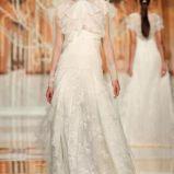 suknia �lubna Yolan Cris z �abotem koronkowa