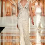 suknia �lubna Yolan Cris z koronk� na rami�czkach