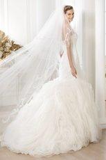 suknia �lubna Pronovias z falbankami