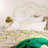 Pi�kna wzorzysta po�ciel w kolorwe kwiaty - propozycje od Zara Home