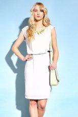 bia�a sukienka Monnari - trendy na lato