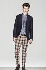 spodnie Sisley w krat� - lato 2013