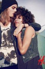 kamizelka H&M jeansowa - lato 2013