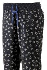 spodnie Adidas we wzorki w kolorze czarnym - wiosna/lato 2013