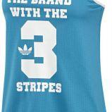 koszulka Adidas w kolorze niebieskim - kolekcja wiosenno-letnia