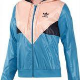 kurteczka Adidas w kolorze niebieskim - kolekcja wiosenno-letnia