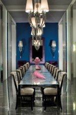 Nowoczesny prostok�tny stolik jadalny w kolorze szaro�ci - inspiracje od Patt Mebel