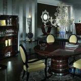Nowoczesny stolik jadalny w kolorze ciemnej czekolady - pomys�y 2013