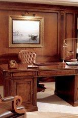 Luksusowe rze�bione biurko w kolorze br�zu - inspiracje 2013