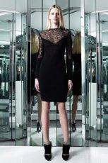 sukienka Azzaro w kolorze czarnym - trendy 2013/2014/- moda 2013/2014