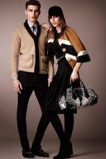 elegancki p�aszczyk Burberry - trendy na jesie� 2013