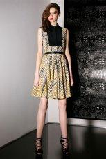 sukienka Jason Wu we wzorki - trendy na jesie� 2013