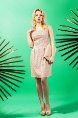 jasnor�owa sukienka Midori  - lookbook na lato