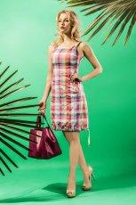 sukienka Midori w krat�  - lato 2013