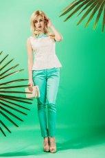 mi�towe spodnie Midori  - lookbook na lato
